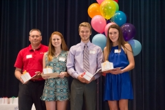 21 - Burkburnett Rotary Club Scholarship Recipients
