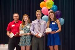 21 - Burkburnett Rotary Club Scholarship Recipients